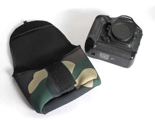 Pro camera body pouch