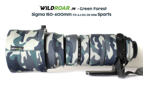 wild coat for sigma Sports Green Forest